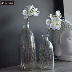 The earth laughs in flowers! Flowers Vase, Glass Vase, Earth, Fashion Design, Inspiration, Home Decor, Biblical Inspiration, Decoration Home, Vase Of Flowers