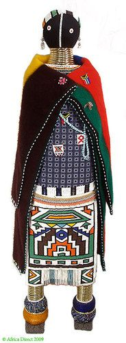 Ndebele Beaded Doll Large South Africa African