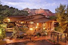 "L'Auberge de Sedona is a small hotel with a few ""cabins"" on the edge of Oak Creek. Sedona has the most beautiful sunsets I've ever seen and the Grand Canyon is only about two hours away. Hiking through the Red Rock Park makes you feel like you're on another planet."