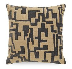 AMBROSE GRAPHITE PILLOW<BR>[available online and in stores]