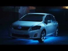 Interaction Design - Toyota Auris Hybrid: Get Your Energy Back 3D projection mapping