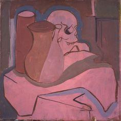 """Wine Floral Dawn"" 40×50 cm tempera painting on canavas"