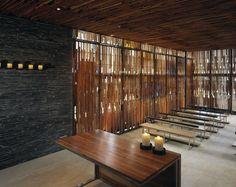 Chapel interior design in Bogota Colombia by Daniel Bonilla Architects
