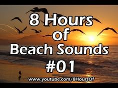 ▶ 8 hours of sleep sounds - relaxing beach sounds #01 - Meditation, yoga, tinnitus, sleep music - YouTube