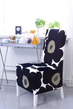 Happy Birthday. Unikko print from Marimekko celebrates 50 years. Finland