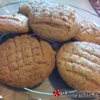 Μπισκότα βουτύρου με καστανή ζάχαρη