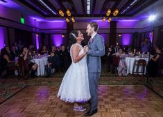 Alex and Paul chose the Sorrel Room at Disney's Grand Californian Hotel for their reception because it was the closest venue to their ceremony site!