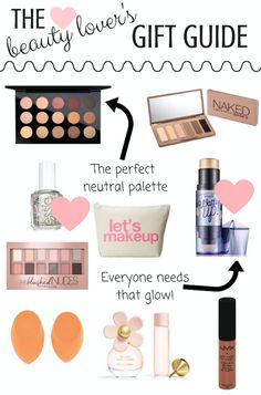 Christmas Gift Guide: For The Beauty Lover