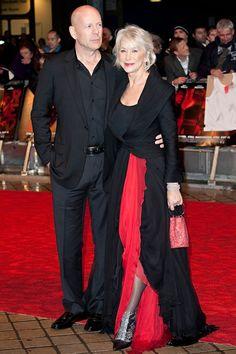 Dame Helen & Bruce Willis