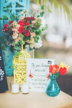 Fun, Eclectic & Colorful Wedding