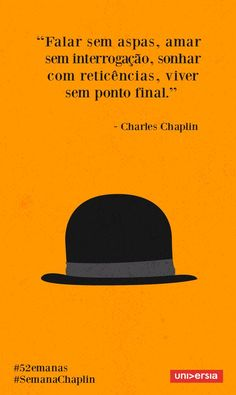 Aplique os ensinamentos de Charles Chaplin no seu . More Than Words, Some Words, Motivational Phrases, Inspirational Quotes, Words Quotes, Sayings, Sentences, Life Lessons, Quotes To Live By