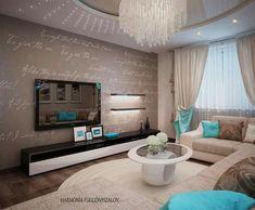 Turkis living room