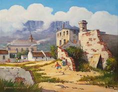 Cape Town Ruins in Bygone Days - Hannes van der Walt