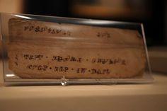 Manuscript Cherokee Note