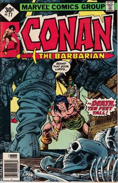 Conan the Barbarian 77 August 1977 Issue  Marvel by ViewObscura