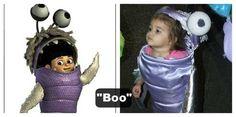 Boo, diy costume Monster's inc
