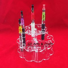 Creative Office Acrylic Pen Holder Electronic Cigarette Holder E Cig Display Stand