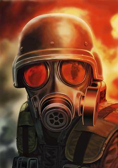-illust-hunk+Resident+Evil.jpg 1.120×1.600 pixel