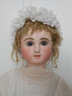 """Antique 34"""" Steiner Figure C doll"""