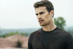 After the earth-shattering revelations of INSURGENT, in ALLEGIANT Tris [Shailene Woodley] must escape with Four [Theo James] beyond the wall that encircles Chicago to finally discover the shocking. Divergent Fandom, Divergent Funny, Divergent Trilogy, Divergent Insurgent Allegiant, Theo James Allegiant, Tobias, Theodore James, Veronica Roth, Shailene Woodley