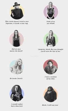 Best Coven Quotes! #AHS #Coven