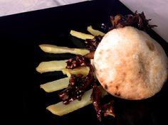 Receta de Mini pita de Ibepan, rellena de codornices al chocolate