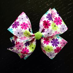 Pinwheel Hair Bows from Etsy. $5.00
