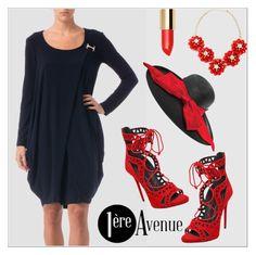 #summerhat  #premiereavenue #StreetSyle  @premiereavenue-boutique #JosephRibkoff #classy @polyvore @polyvore-editorial @premiereavenue-boutique  http://www.1ereavenue.com/en/joseph+ribkoff+dress+style+163016-p9784/