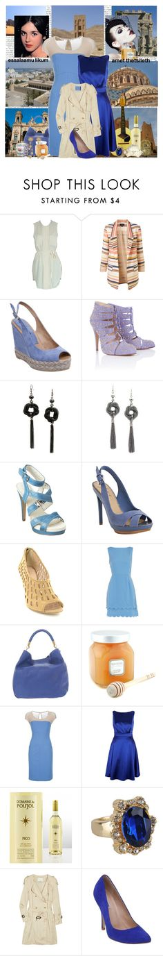 """Algerie"" by katieci ❤ liked on Polyvore featuring By Malene Birger, Pied a Terre, Bionda Castana, Fantasy Jewelry Box, Nine West, Mark + James by Badgley Mischka, Loeffler Randall, Dorothy Perkins, Grace and Yves Saint Laurent"
