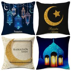 Ramadan Kareem Cushion Cover