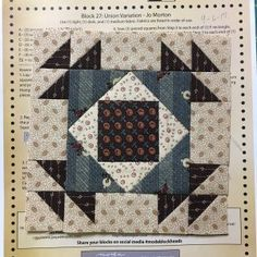 Block #27 Jo's Blog | JoMortonQuilts.com | In an effort to preserve our ties to the past