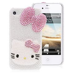 Ohhh, I want this for my iphone 4! :) <3 Hello Kitty <3