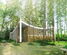 Flush with mature spruce trees and a pre-existing one story abandoned structure, the design is a mixture of two fundamental challenges in ar...