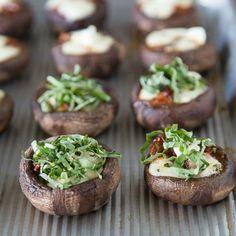 Pizza Stuffed Mushrooms
