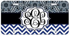 Personalized Monogrammed Chevron Blue Lace License Plate Auto Tag Top Craft Case http://www.amazon.com/dp/B00OMQBI7C/ref=cm_sw_r_pi_dp_oJotub1BMD40W