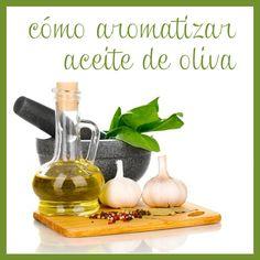 Aquí tienes ideas para aromatizar aceite de oliva en casa fácilmente y con tu toque personal.