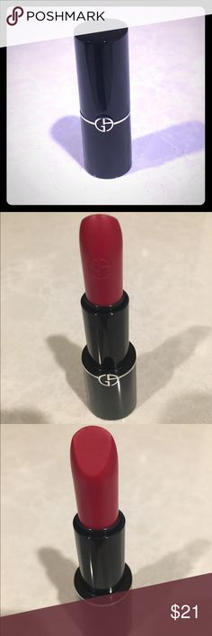 Giorgio Armani lip sheer 404 New. Grazed for color check and not noticeable at all. Lip sheer. Giorgio Armani Makeup Lipstick