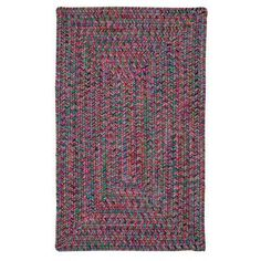 Bungalow Rose Huntington Hand-Woven Pink/Green Area Rug Rug Size: 8' x 11'