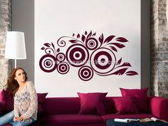 Apply this Tribal Floral Sticker in any flat surface. If you are looking for a piece of art, Tribal Floral Sticker is the perfect choice.