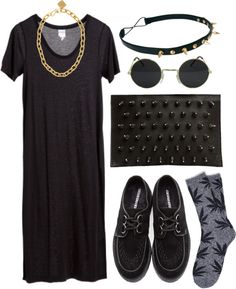 """Fictional Crime"" by michlouisa ❤ liked on Polyvore"
