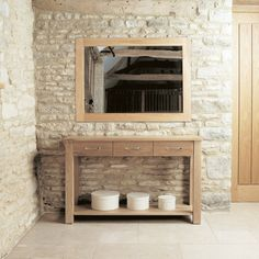 mobel solid oak wall mirror medium aston solid oak wall mirror