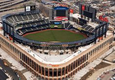 """Mets, Citi Field still likely to host 2013 MLB All-Star Game; David Einhorn deal close to finish"" (NY Daily News)Associated PressThe 2013 All-Star game would be the first one that the New York Mets would host since the 1964 game. New York Mets Stadium, New York Mets Baseball, Baseball Park, Ny Mets, Sports Baseball, New York Jets, Baseball Field, Baseball Stuff, Best Baseball Stadiums"