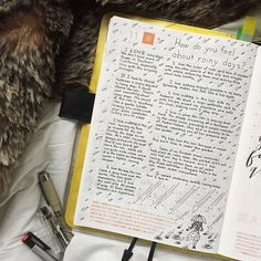I couldn't sleep last night so I decided to journal in my Hobonichi. Then about halfway through I realized I had skipped a page and was a day ahead. Then I rambled on and on about why I love rainy days. This is what happens when I try to journal in...
