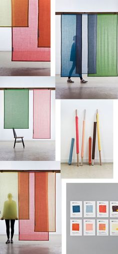 Raw Color did it again ... Simply perfection and it combines all the things I love .. wool , colors and translucency. Interior designers Van Eijk: