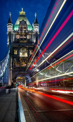 Ludicrous Speed by Brandon Donnelly on (Tower Bridge, London) London England Travel, London Travel, My Travel Map, Travel Chic, Light Trail Photography, Tower Bridge London, Beautiful London, Beautiful Places, London Transport