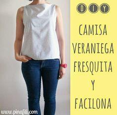 Camiseta DIY para el verano fácil y fresquita