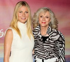 Gwyneth Paltrow and Blythe Danner at the