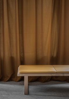 TDC: Note Design Studio | Pulse Daybed by NOIDOI for Skagerak in Sørensen Leather: Spectrum Mustard
