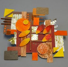 Low-relief Rhythmic Sculptures - based on song - or feeling - or event - deconstructing a thought! Sculpture Lessons, Sculpture Projects, Art Sculpture, 3d Art Projects, High School Art Projects, Cardboard Sculpture, Cardboard Art, Programme D'art, Classe D'art