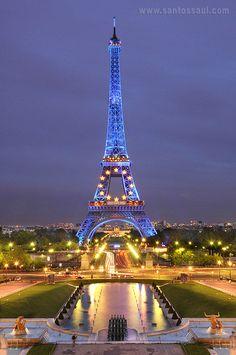 Torre Eifel, Paris, France ,Saul Santos Diaz - photographer